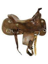 16.5Inch Used Pards Western Shop Training Saddle Versatility Series *Free Shipping*