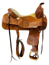 16.5Inch Used Price McLaughlin Maker All Around Arena Saddle Custom *Free Shipping*