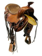 SOLD 2021/04/21  16.5Inch Used Timberland Flex Trail Saddle 169 *Free Shipping*