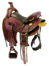 16.5Inch Used Timberline Trail Saddle 1655 *Free Shipping*