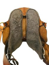 SOLD 2019/10/06  16.5Inch Used Tucker Black Mountain Trail Saddle 261 *Free Shipping*
