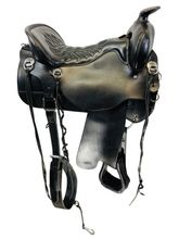 16.5Inch Used Tucker Cheyenne Frontier Trail Saddle T67 *Free Shipping*
