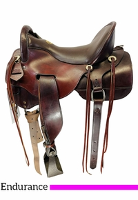 16.5Inch Used Tucker Gen II and Tevis Endurance Saddle 151 *Free Shipping*