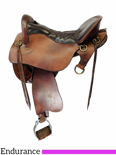 SOLD 2021/03/21 16.5Inch Used Tucker Endurance Saddle 159 *Free Shipping*