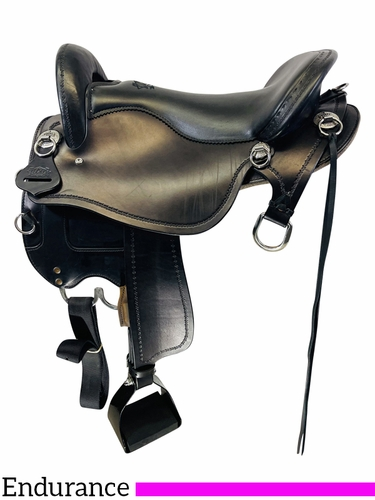 SOLD 2021/06/15 16.5Inch Used Tucker Endurance Trail Saddle  T59 *Free Shipping*
