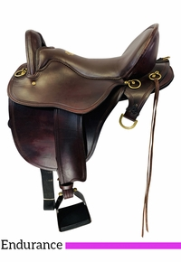 SOLD 2020/08/14  16.5Inch Used Tucker Gen II Bayou Plantation Endurance Saddle  140 *Free Shipping*