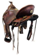 PRICE REDUCED! 16.5Inch Used Tucker Gen II South Pass Wide Trail Saddle 288 *Free Shipping*