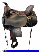 16.5Inch Used Tucker High Plains Classic Trail Saddle 260 *Free Shipping*