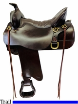16.5Inch Used Tucker High Plains Trail Saddle 260 *Free Shipping*