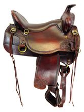 SOLD 2021/05/13  16.5Inch Used Tucker High Plains Trail Saddle T60 *Free Shipping*