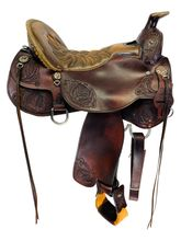 SOLD 2019/11/25  16.5Inch Used Tucker Limited Edition Trail Saddle L15 *Free Shipping*