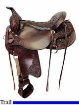 16.5Inch Used Tucker Meadow Creek Trail Saddle 291 *Free Shipping*