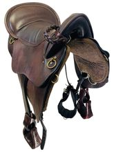 SOLD 2019/10/01  PRICE REDUCED! 16.5Inch Used Tucker River Plantation Endurance Saddle 146 *Free Shipping*
