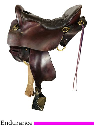 16.5Inch Used Tucker Trail Saddle 159 *Free Shipping*