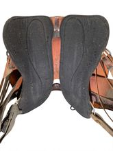 16.5Inch Used Tucker Trail Saddle 251 *Free Shipping*