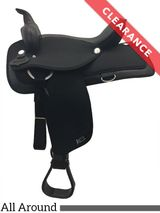 """16"""" Abetta Equis All-Around Saddle 20516, CLEARANCE"""