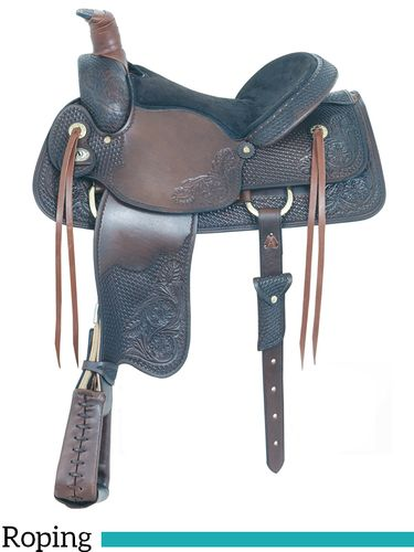 """16"""" American Saddlery All Around Special Roping Saddle 790"""