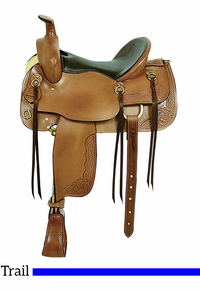 "16"" American Saddlery Cumberland Trail Saddle 1386"