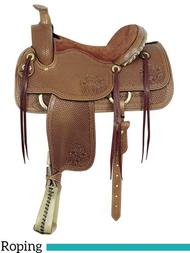 "16"" Big Horn MasterCraft Helena II Roper Saddle 1794"