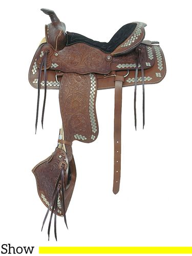 "16"" American Saddlery The Parade of Diamonds Saddle 251"