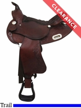 """15"""" Big Horn Extra Wide Trail Saddle 908 CLEARANCE"""