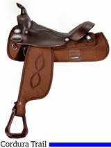 "16"" Big Horn Haflinger Cordura Saddle 295"