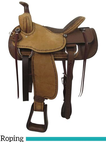 "16"" Big Horn Ladies Choice Cow Girl Saddle 962"
