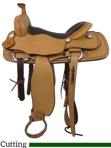 "16"" Big Horn Ranch Cutting Saddle 865"