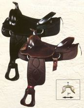 "16"" Big Horn Synthetic Roping Saddle 209 210"
