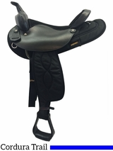 """** SALE **16"""" Big Horn Synthetic Saddle 105 106"""