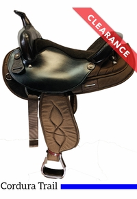 """16"""" Big Horn Synthetic Saddle 106, CLEARANCE"""