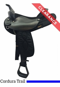 """16"""" Big Horn Synthetic Saddle, CLEARANCE"""