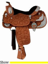 """** SALE **15"""" 16"""" Billy Cook California Show Saddle 9014 *ON SALE NOW*"""