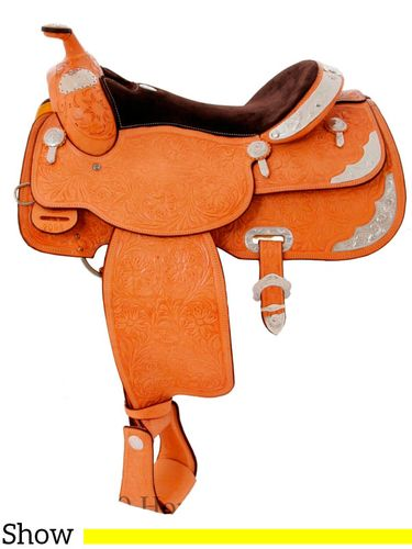 """** SALE **15"""" 16"""" Billy Cook Close Contact Show Saddle 2098"""