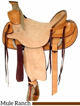 "** SALE **15.5"" 16"" Billy Cook Ranch Mule Saddle 2280"
