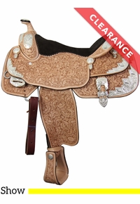 "16"" Billy Cook Wide Show Saddle 9002, CLEARANCE"