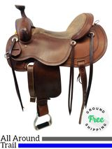 "16"" Cashel by Martin Outfitter Trail & All-Around Saddle usch4483 *Free Shipping*"