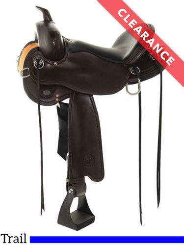 "15"" Wide, Circle Y Blackfoot Flex2 Trail Saddle 2381, CLEARANCE"