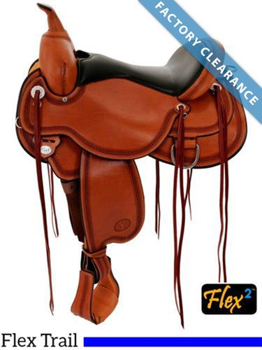 "16"" Circle Y Pioneer Flex2 Trail Saddle 1665 - FLOOR MODEL"