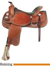 "** SALE **15"" to 17"" Crates Classic Reining Saddle 2221"