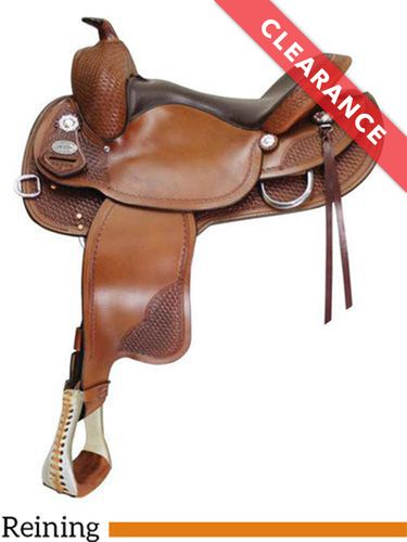 """16"""" Crates Classic Reining Saddle 2222, CLEARANCE"""