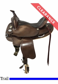 """16"""" Crates Light Ladies Trail Saddle 2120, CLEARANCE"""
