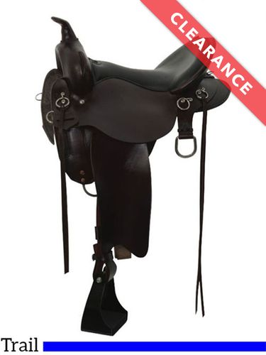 """15"""" High Horse by Circle Y Little River Trail Saddle 6863, CLEARANCE"""