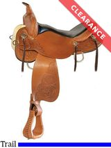 """16"""" High Horse by Circle Y Mesquite Trail Saddle 6864, CLEARANCE"""