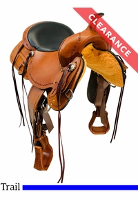 """16"""" High Horse by Circle Y Winchester Trail Saddle 6819, CLEARANCE"""