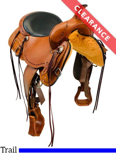 "16"" High Horse by Circle Y Winchester Trail Saddle 6819, CLEARANCE"