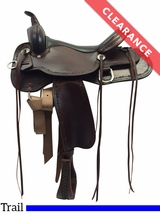 "16"" High Horse by Circle Y Winchester Wide Trail Saddle 6819 CLEARANCE"