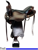 PRICE REDUCED! 16inch BIg Horn Gaited Light Flex Tree Saddle FLOOR MODEL 815 usbh4530 *Free Shipping*