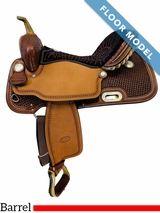 PRICE REDUCED! 16 Inch Billy Cook Barrel Racing Saddle FLOOR MODEL 1530