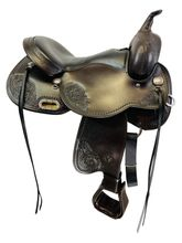 SOLD 2021/05/05  16 Inch Circle Y Lady Trail Flex2 Saddle FLOOR MODEL 5701